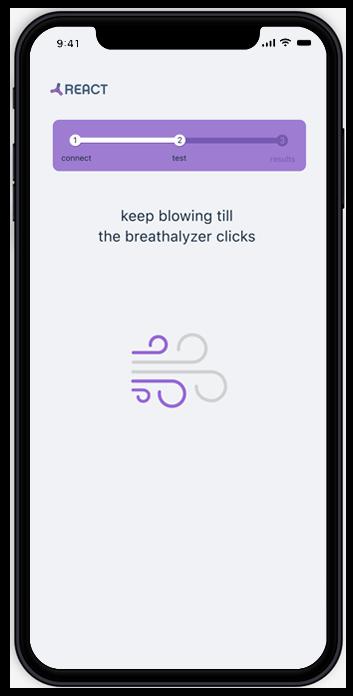 DIMS Breathalyzer App