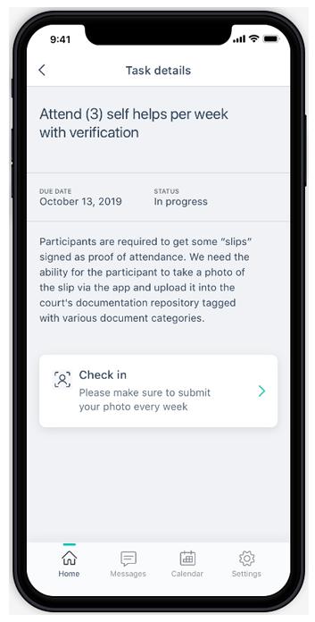 DIMS Participant App